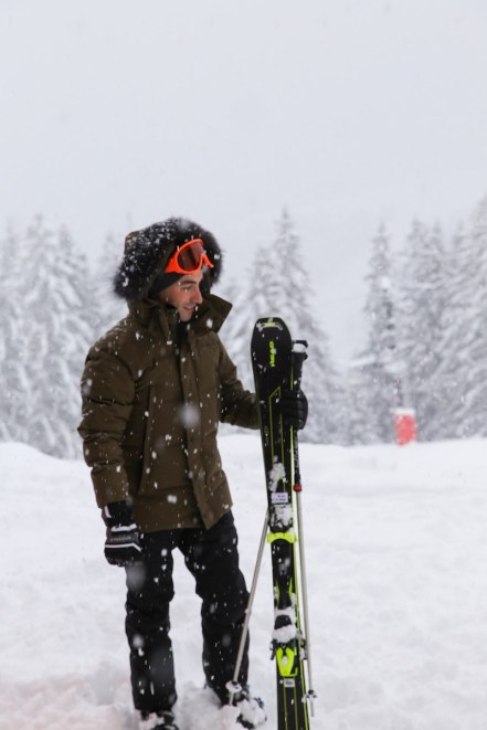 Amy Yang ready for skiing - Picture by Gerson Lirio
