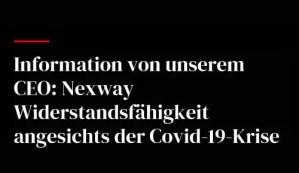 Information von unserem CEO: Nexway Widerstandsfähigkeit angesichts der Covid-19-Krise