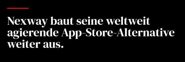 Nexway baut seine weltweit agierende App-Store-Alternative weiter aus