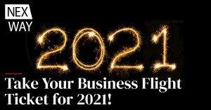 Take your 2021 business flight ticket!