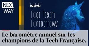 KPMG - Le baromètre annuel sur les champions de la Tech Française.