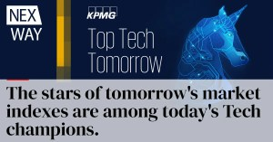 The stars of tomorrow's market indexes are among today's Tech champions