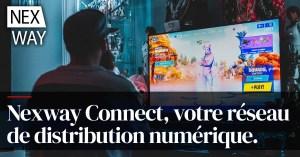 Nexway Connect, votre réseau de distribution numérique.