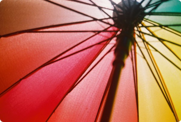 16 colors Umbrella by 2493