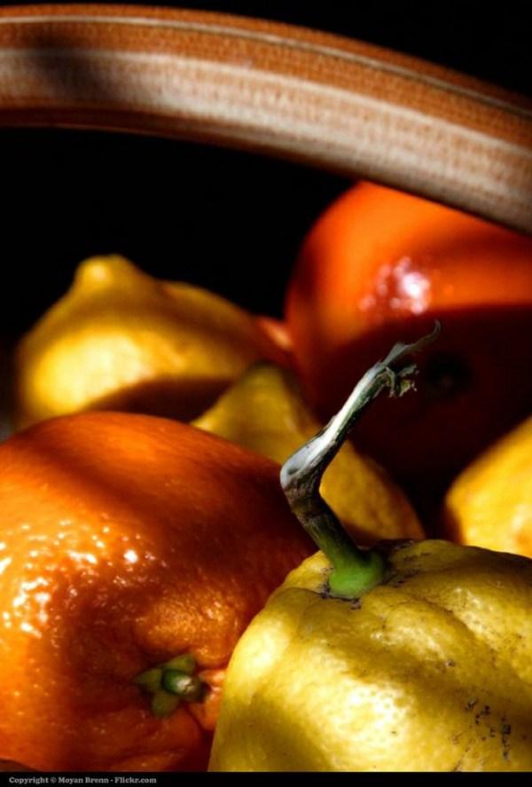 orange and lemons