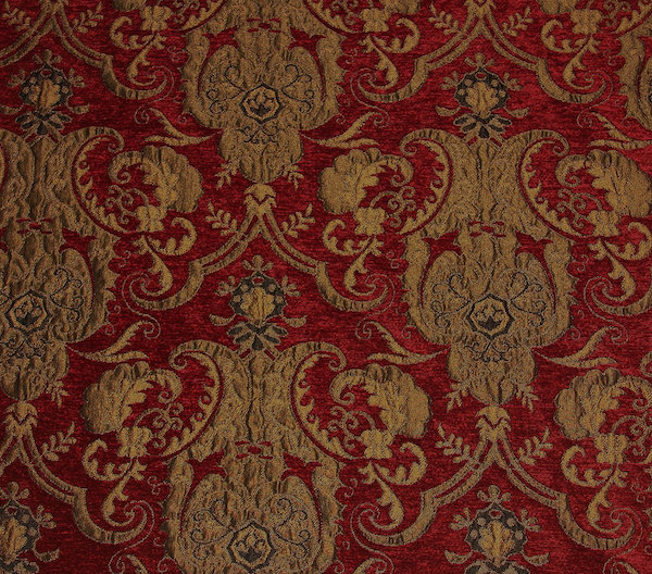velvet gold red