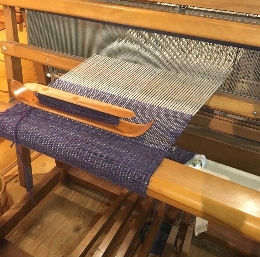 Weaving Projects at Nezinscot Farm Fiber Studio