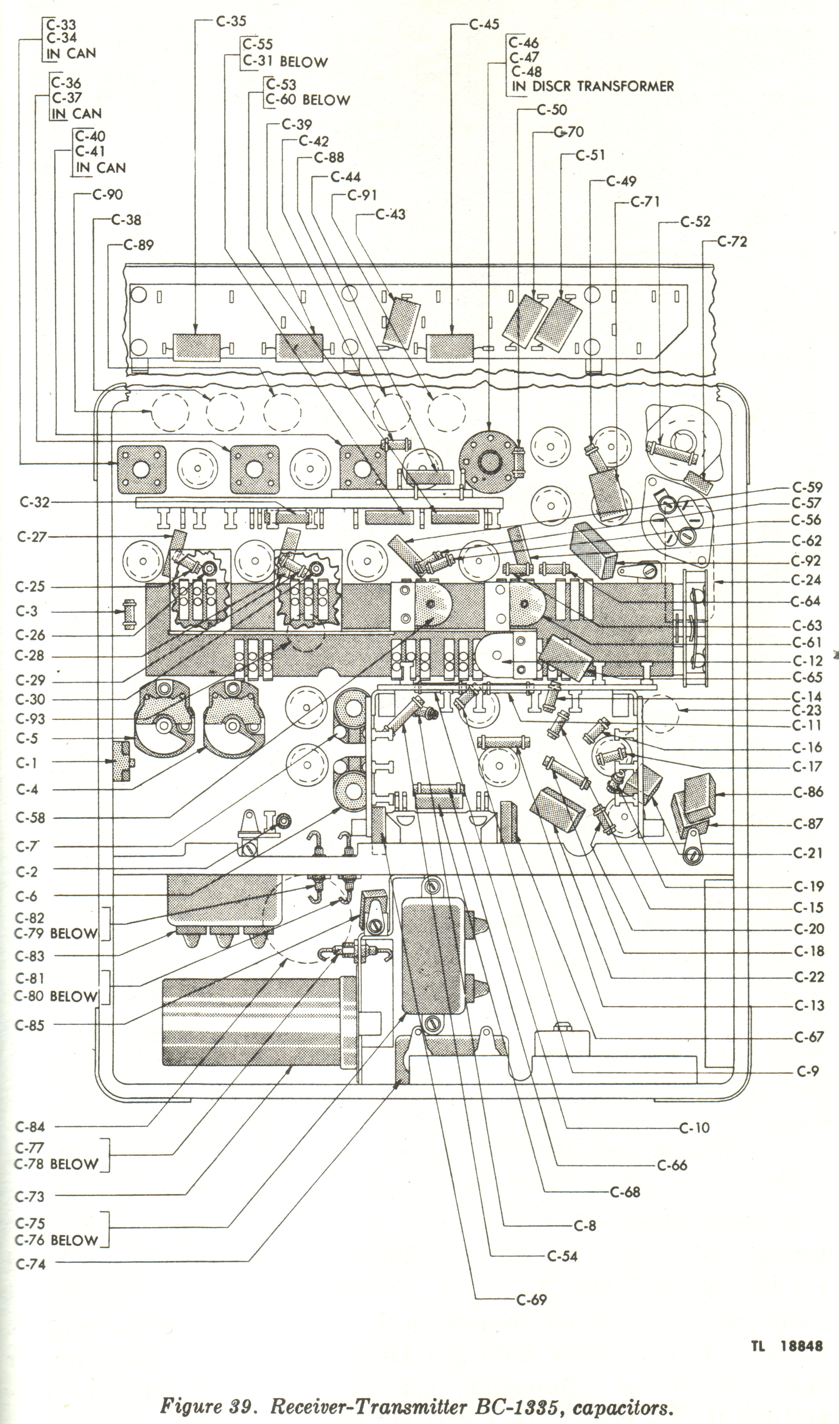 Radio Receiver Amp Transmitter Bc Scr 619 Mark S