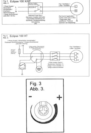 ECLIPSE 100XT Bathroom Kitchen Toilet wall or ceiling mounted extractor fan by Vent Axia  Vent