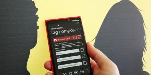 NFC interactor - Business Card