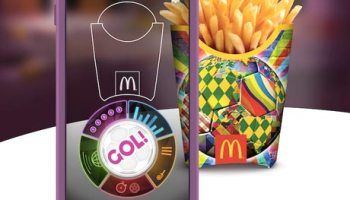 Mcdonalds turns happy meal boxes into virtual reality goggles nfc mcdonalds world cup app turns fast food into football match freerunsca Images
