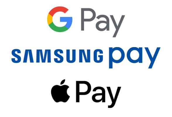 Image result for samsung pay google pay apple pay