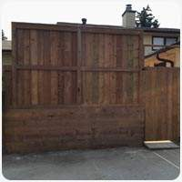 pressure treated fencing calgary