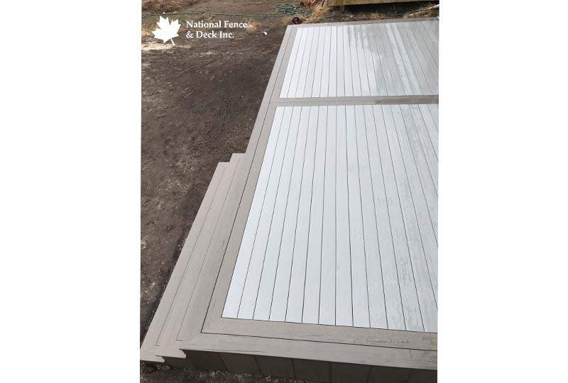 Timbertech Stone Ash Composite Deck