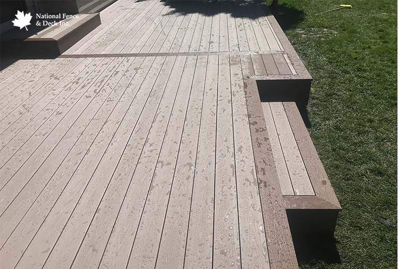 Timbertech Deck With Aluminum Railing
