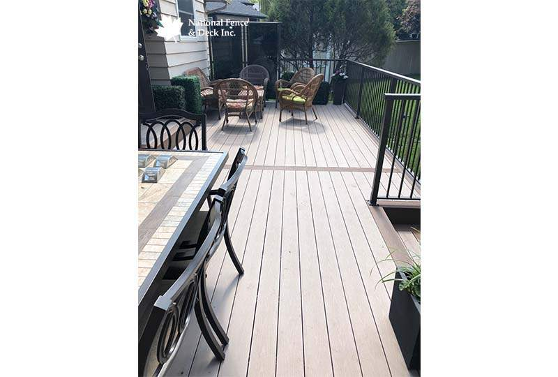 Timbertech Deck With Aluminum Railing
