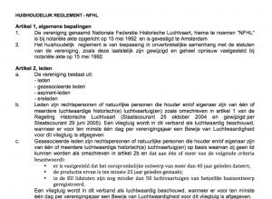 Screen Shot huishoudelijk reglement NFHL