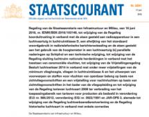 160616 ScreenShot Staatscourant regeling wijzigingen div.