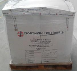 Bacalhau Salgado Verde em caixa Industrial