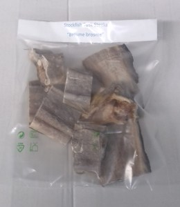 Stockfish tusk steaks