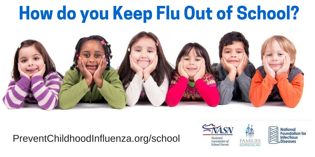 How do you keep flu out of school (Twitter)