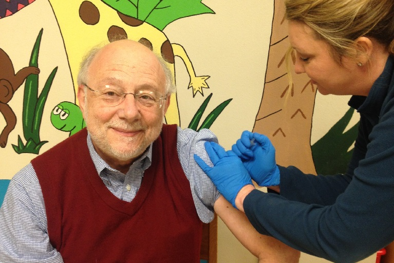 Joseph A. Bocchini, Jr., MD Getting Vaccinated