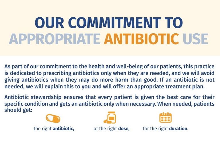 Be #AntibioticSmart: Help Fight Resistance