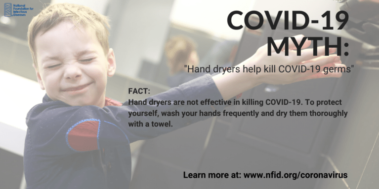 Hand Dryers Myth