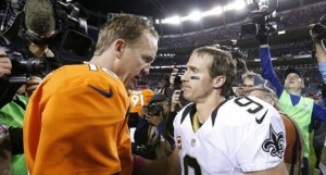 Peyton Manning Drew Brees Passing Records
