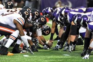 Vikings At Bears NFL Week 11