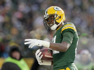Green Bay Packers wide receiver Geronimo Allison.