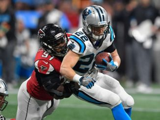 Christian McCaffrey, Panthers, Falcons, Saints, Buccaneers, NFL