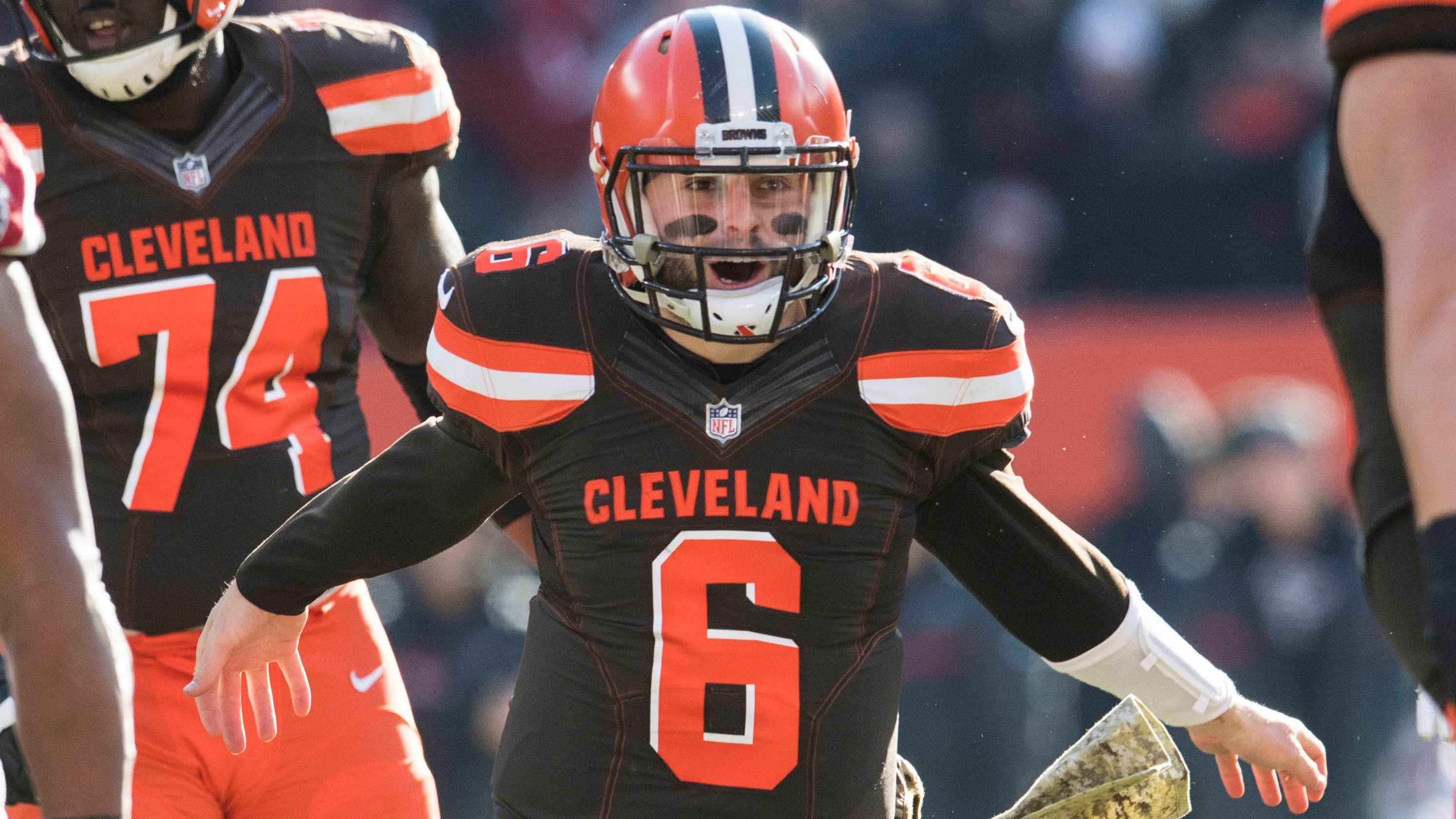 a0f17f02e Cleveland Browns  3 Best Performances from Week 14 Win vs. Panthers - NFL  Analysis Network