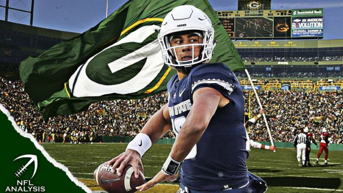 Jordan Love, Packers, NFL Draft