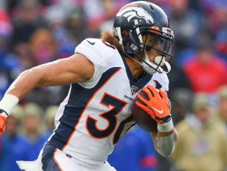 Phillip Lindsay, Broncos, Washington Football Team