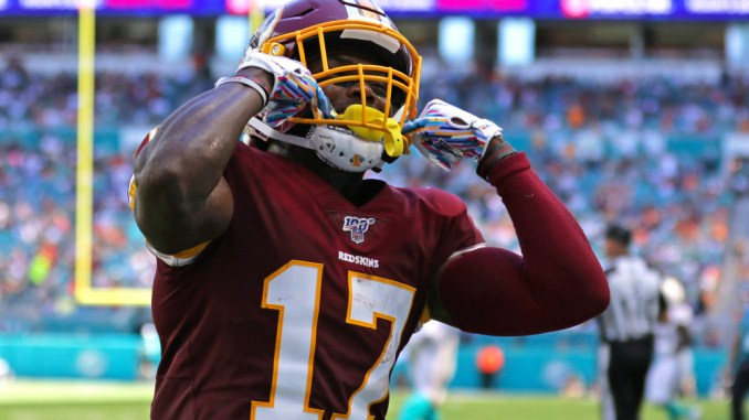 Terry McLaurin, Fantasy Football, Redskins
