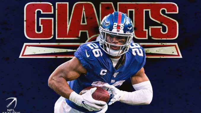 Giants, Saquon Barkley