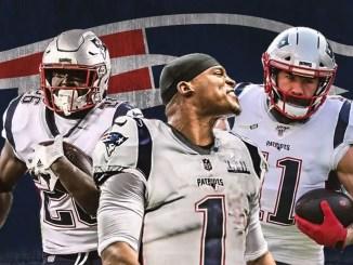 Patriots, Cam Newton, Julian Edelman, Sony Michel
