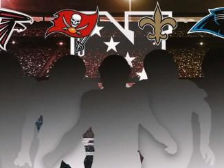 NFL, NFC South, Buccaneers, Saints, Falcons, Panthers