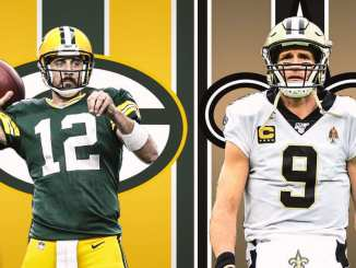 Packers, Saints, Drew Brees, Aaron Rodgers