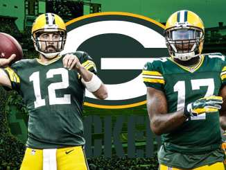 Aaron Rodgers, Davante Adams, Packers