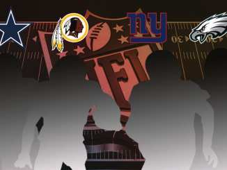 NFC East, NFL, Cowboys, Eagles, Giants, Washington Football Team