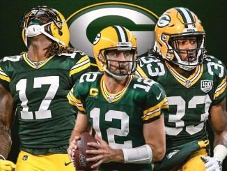 Packers, Aaron Rodgers, Aaron Jones, Davante Adams
