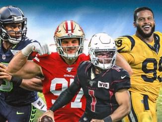 Cardinals, 49ers, Rams, Seahawks, NFC West, NFL
