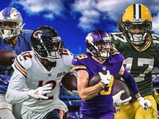 Packers, Bears, Vikings, Lions, NFC North, NFL