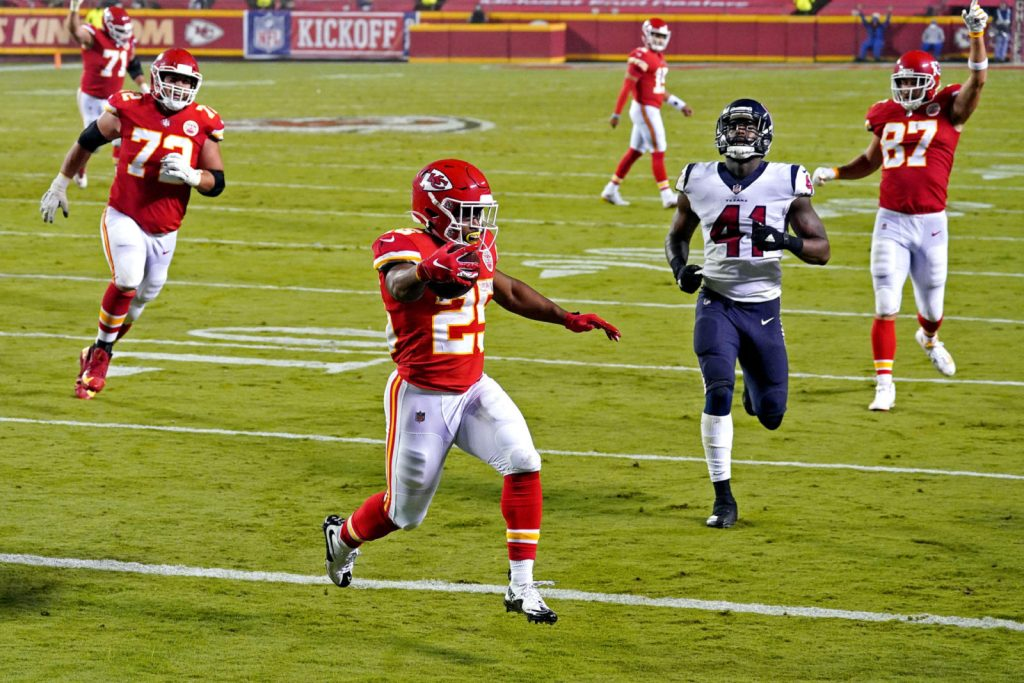 Clyde Edwards-Helaire, Chiefs