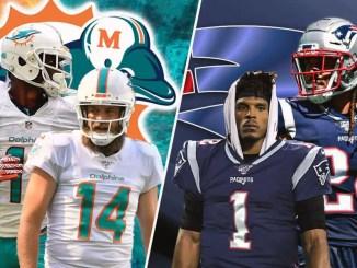Dolphins, Patriots