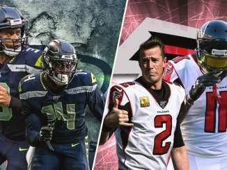 Seahawks, Falcons