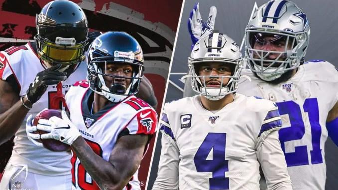 Cowboys, Falcons