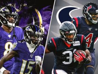 Texans, Ravens
